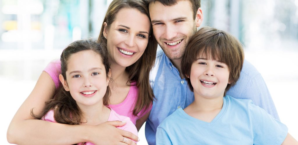 41624253 - young family smiling
